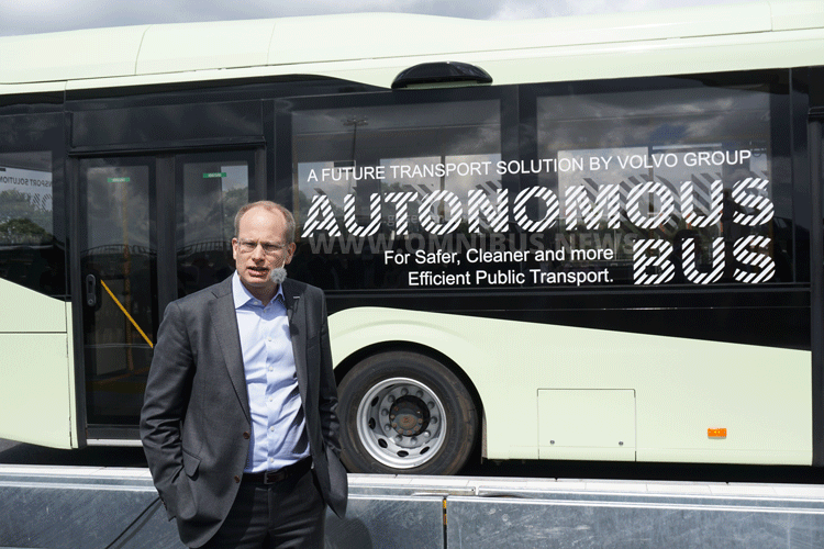 Autonomer Schwede