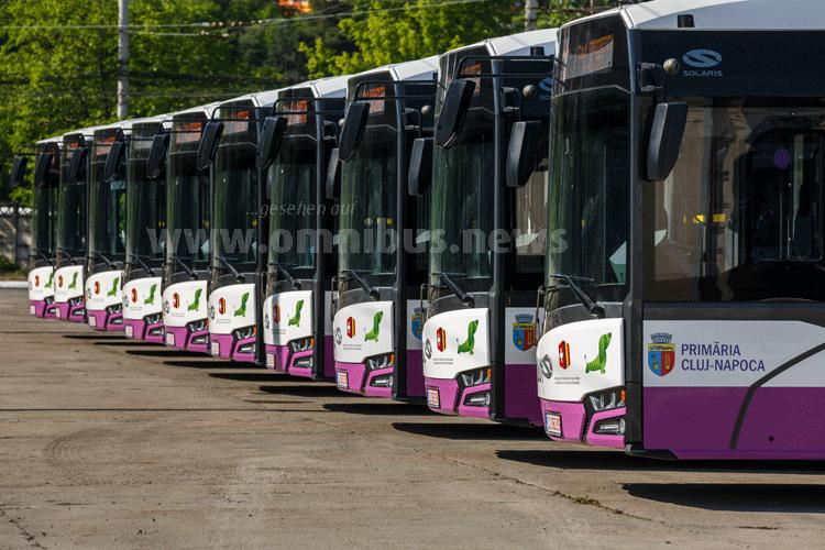 Rumäniens 1. E-Busse