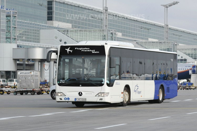 E-Busse für Fraport