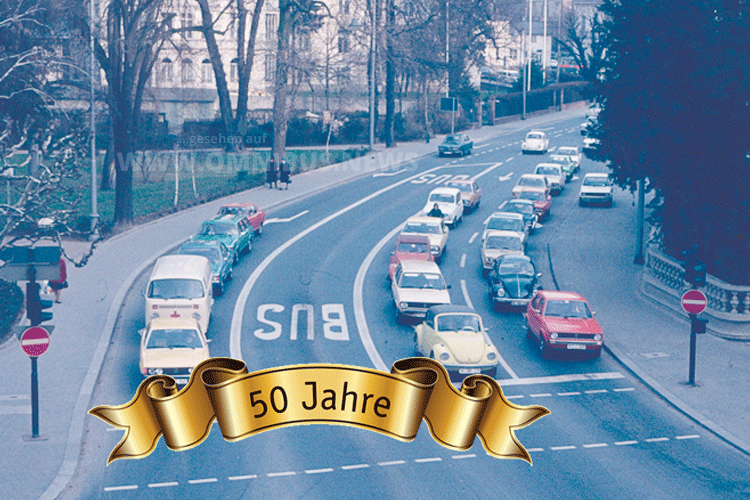 50 Jahre Busspur