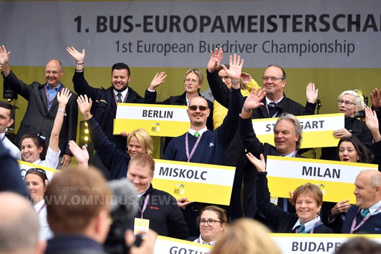 1. Bus-EM in Berlin