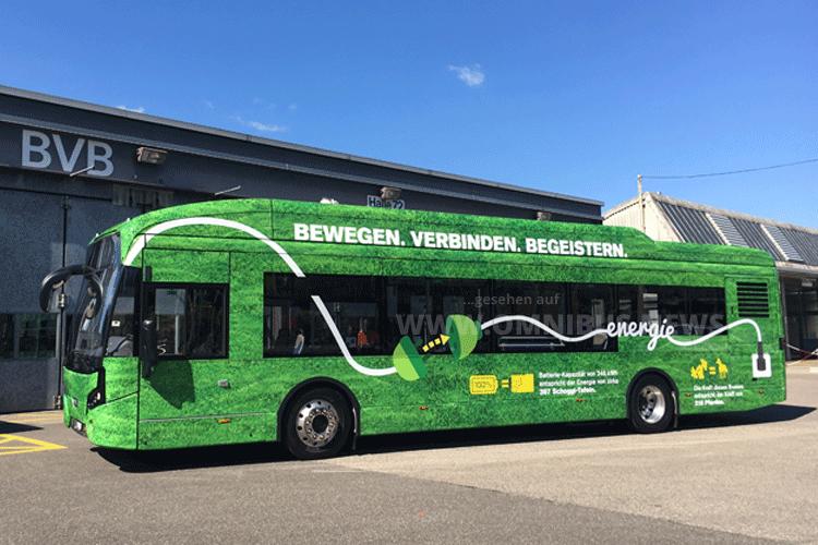 BVB testet E-Bus