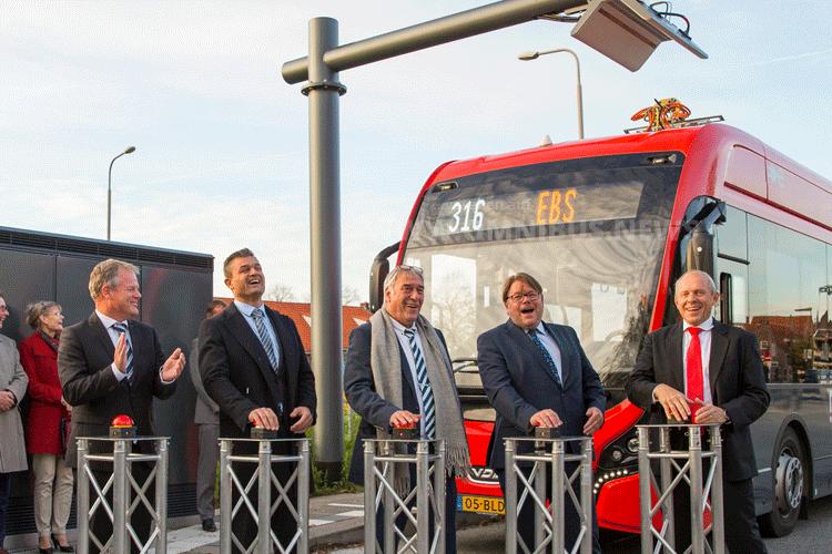 Überland-E-Bus