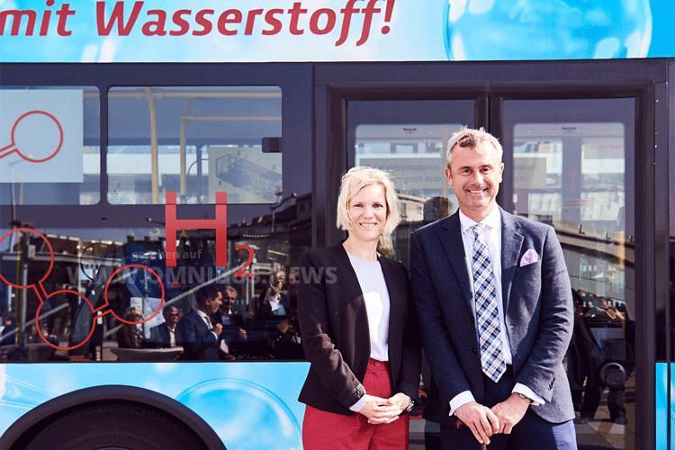 H2-Testbus für ÖBB