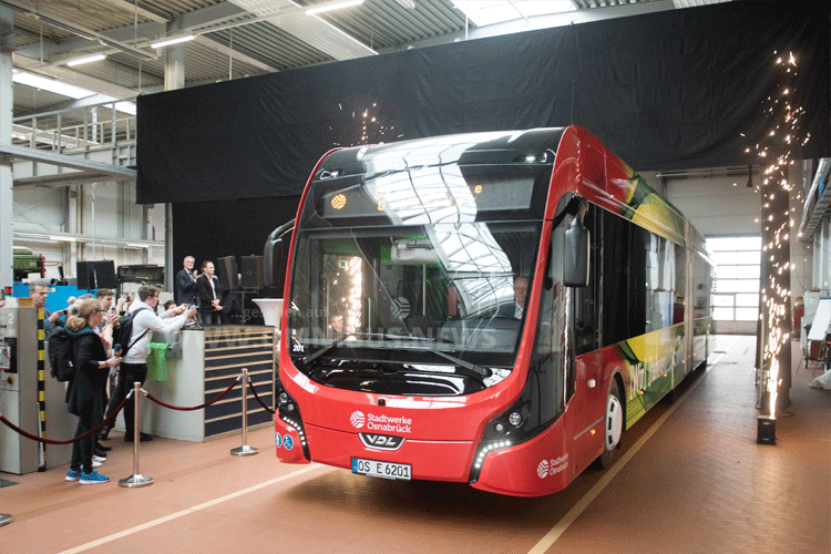 E-Bus startet