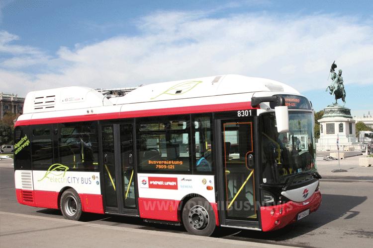 H2- und E-Busse für Wien