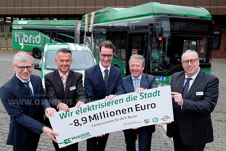 8,9 Mio. für E-Busse