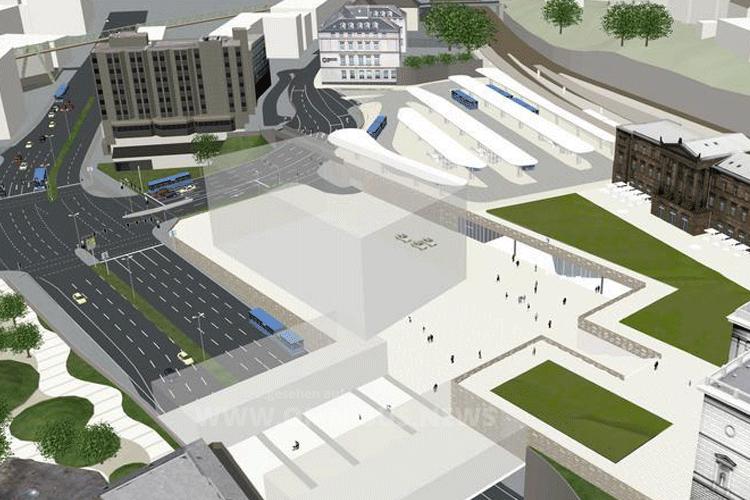 Busbahnhof eröffnet