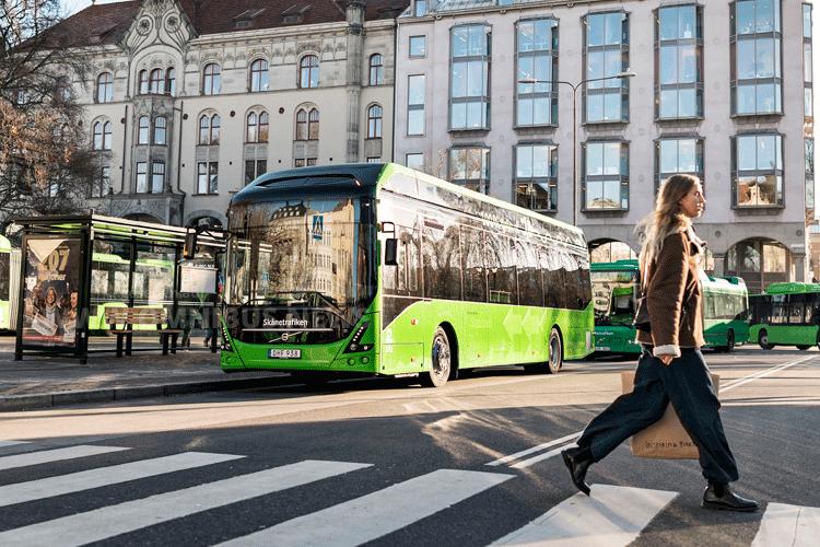 Malmö startet 13 E-Busse
