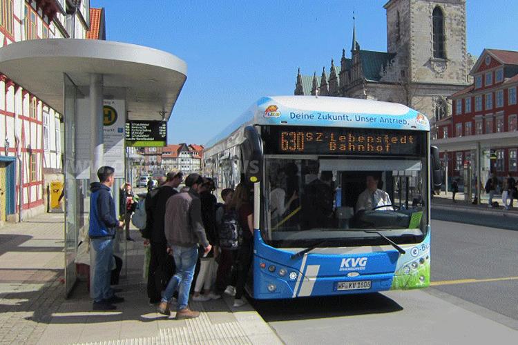 KVG setzt auf E-Busse