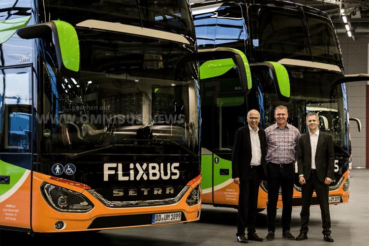 Flixbus fährt S 531 DT