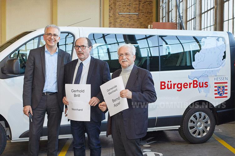 Neue Bürgerbusse
