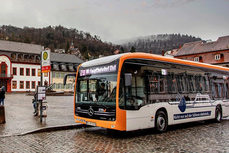 eCitaro in Heidelberg