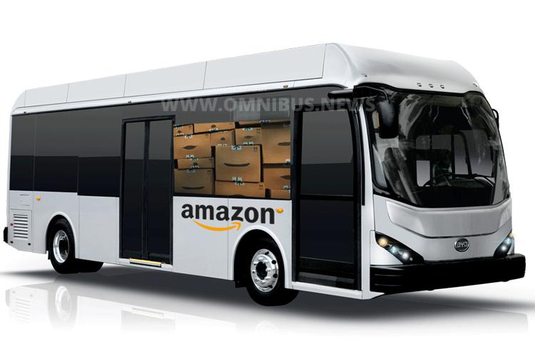 Amazons Paketbus