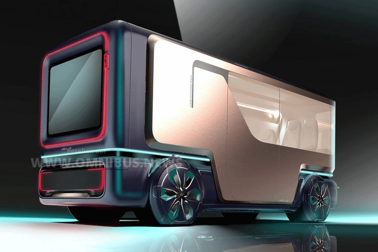 Autonomer Luxus-Bus