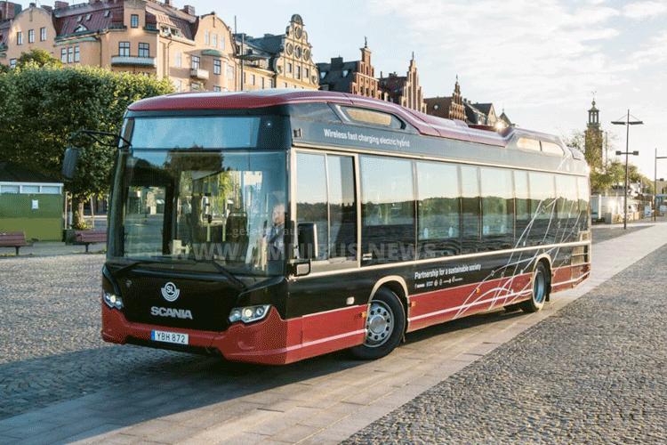 Scania fährt autonom