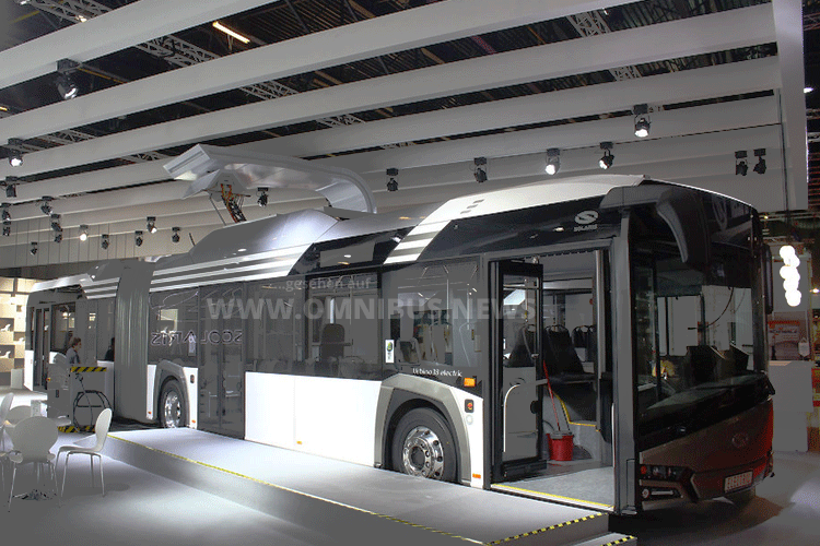E-Bus-Schlenki für BVG