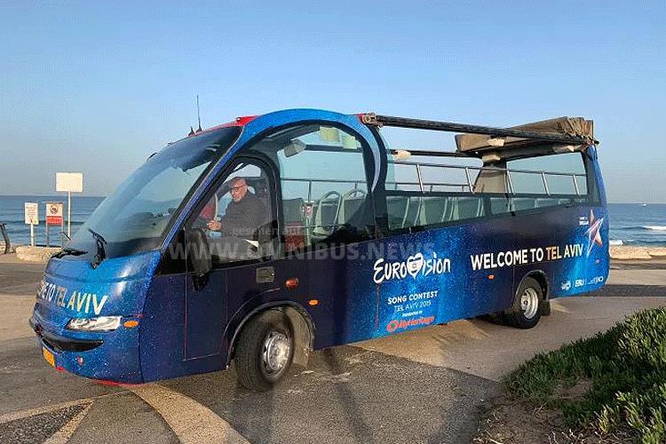 ESC mit Cabriobus