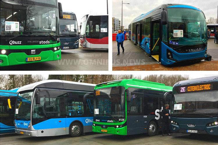160 E-Busse für Qbuzz