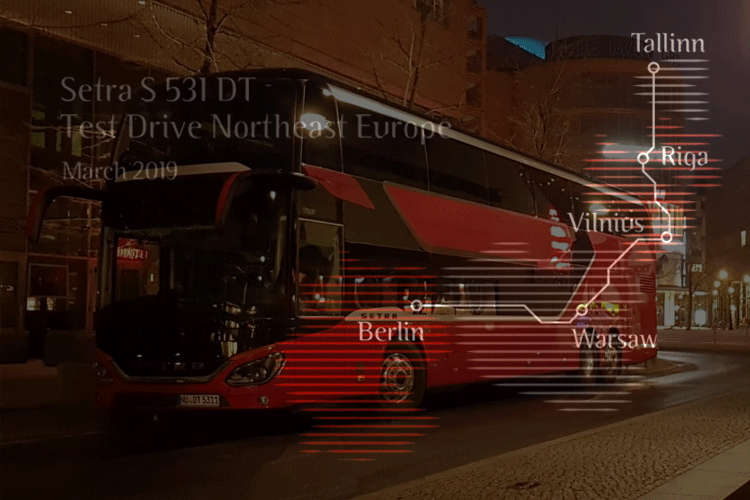 Berlin – Tallinn im Setra