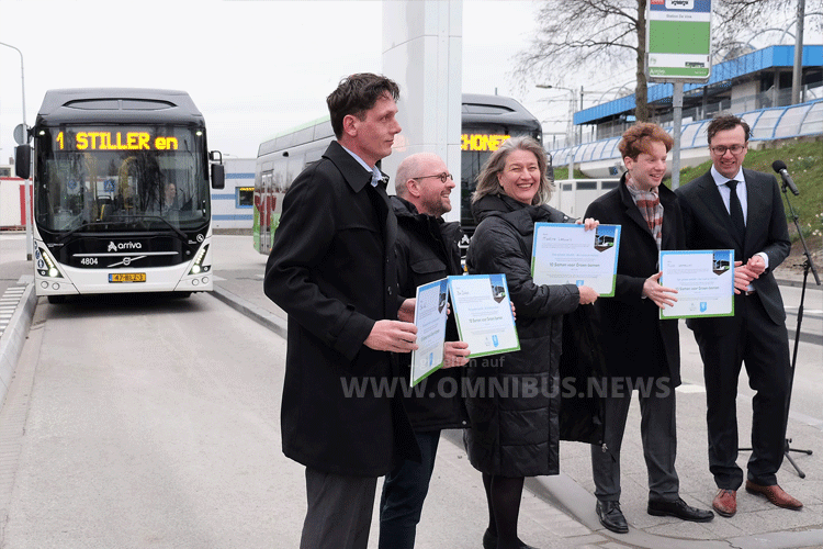 23 E-Busse für Arriva NL