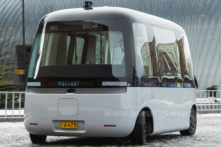 Autonomer Allwetter-Bus