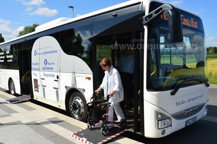 Easy Bus im Einsatz