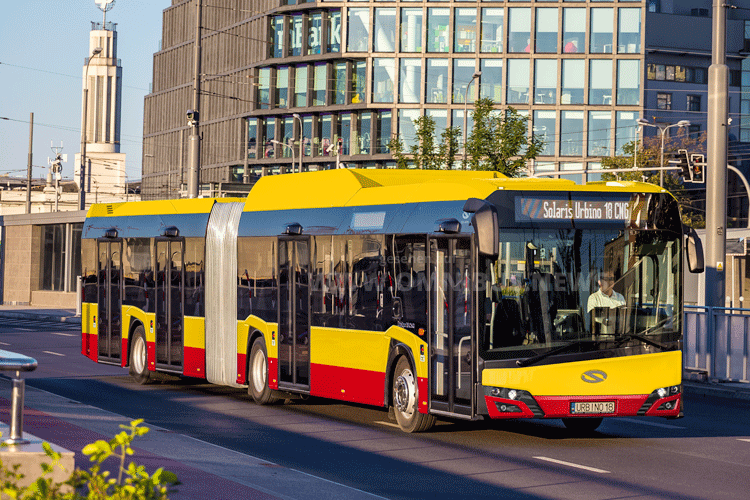 CNG-Urbino für Warschau
