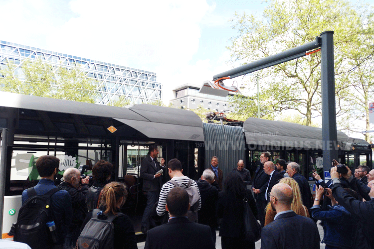 E-Bus-Linie Brüssel