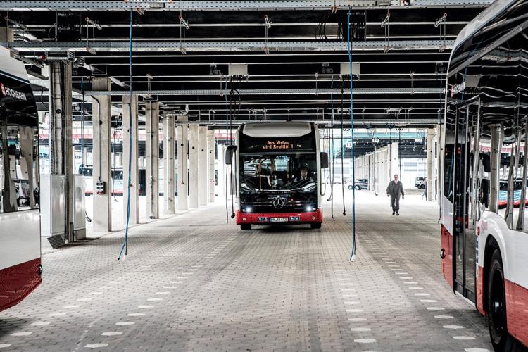 Die E-Busse kommen