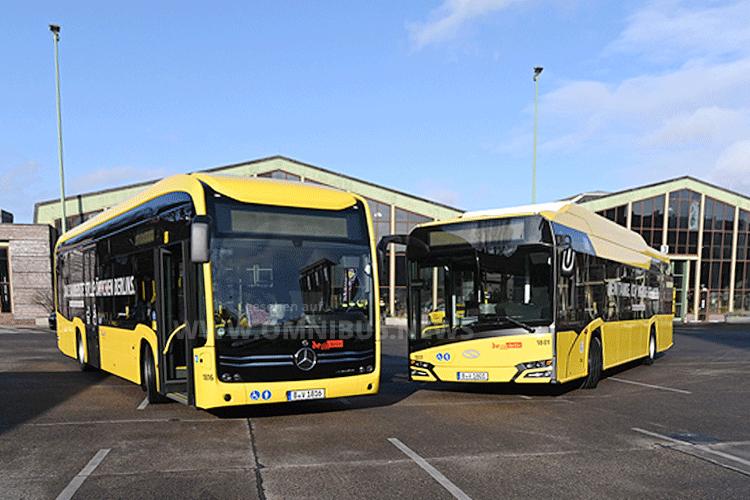 100 E-Busse in Berlin