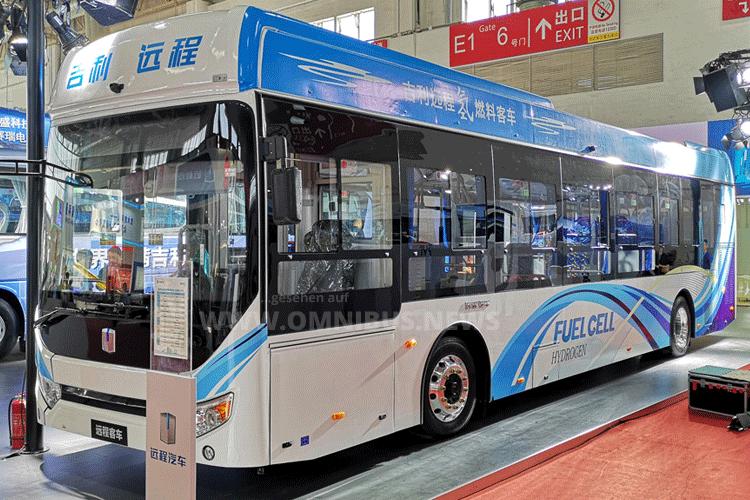 FC- & E-Bus von Geely