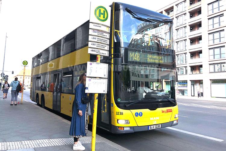 Ohne Bus geht es nicht