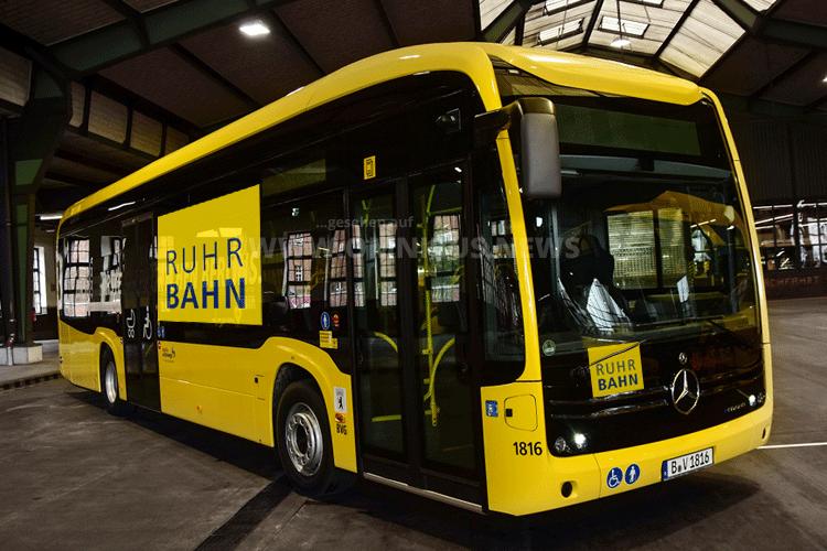 Ruhrbahn testete eCitaro