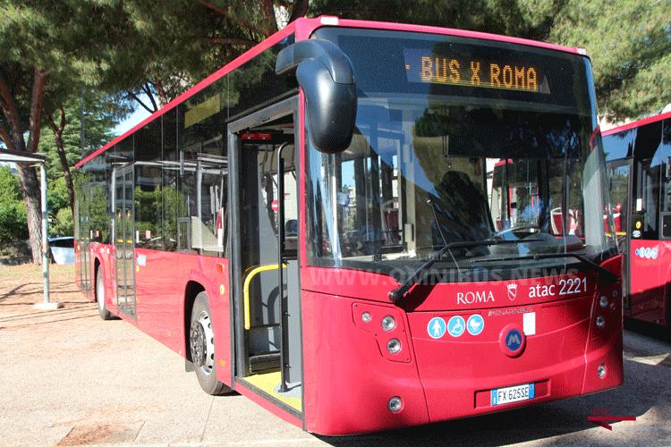 227 neue Busse für ATAC