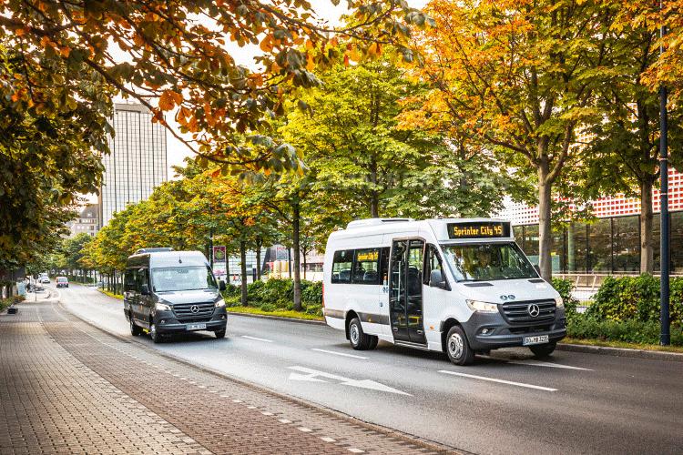 Mehr Minibusse