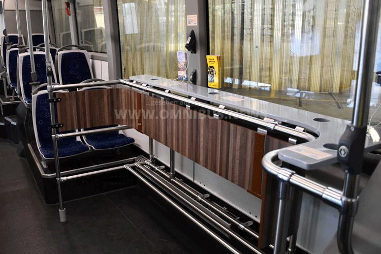 VBZ testet Bus-Tisch