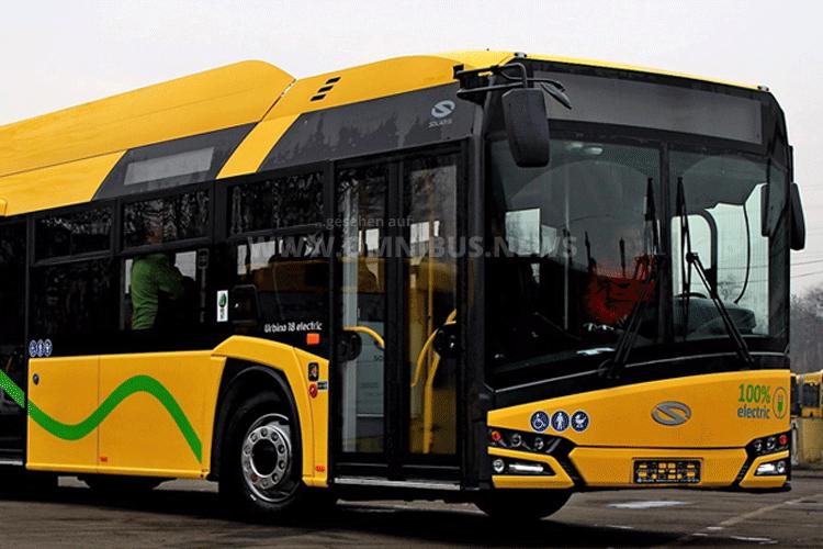 100. E-Bus von Solaris