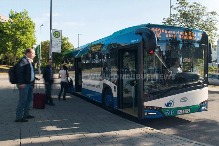 1. MVV E-Bus-Linie