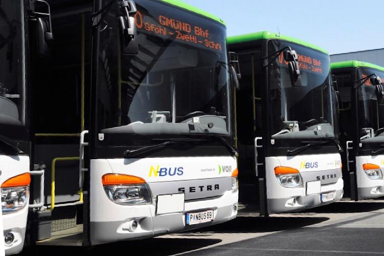 65 Setra für N-Bus