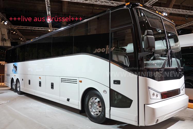 Van Hool mit E-Reisebus