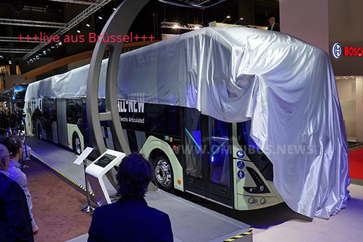 Volvo auf der Busworld