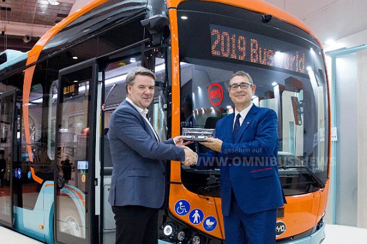 55 BYD für Vy Buss