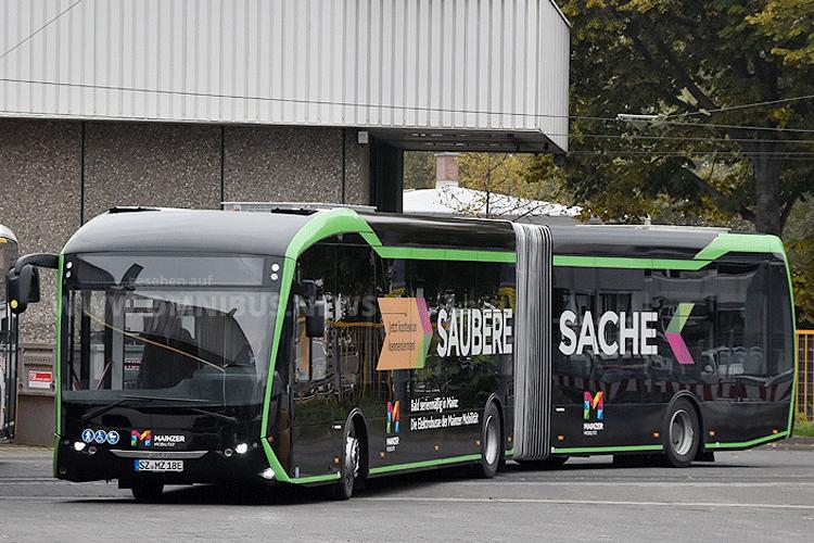 1. Batteriebus in Mainz