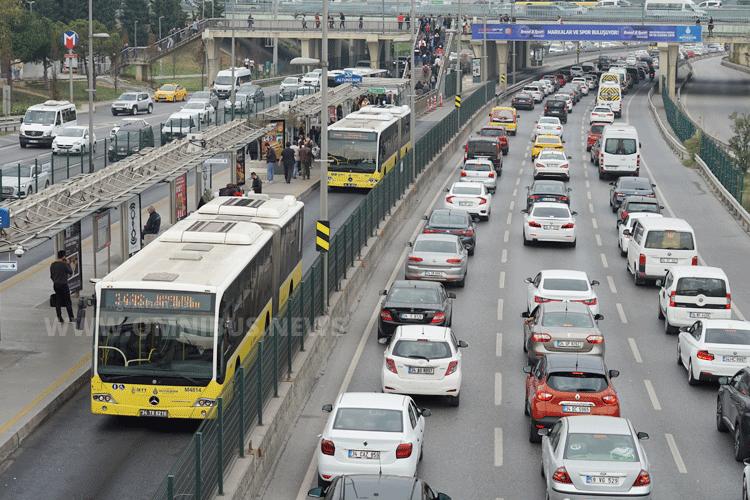 Metrobüs Istanbul