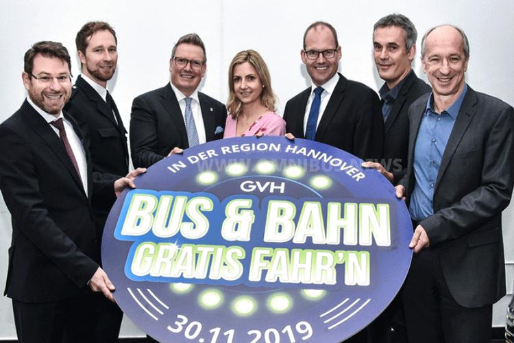 Bus & Bahn gratis fahr'n