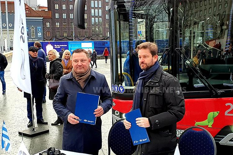 100 CNG-Busse für Tallin