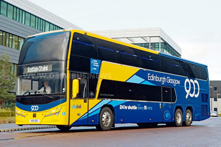 Plaxton für Scottish Citylink