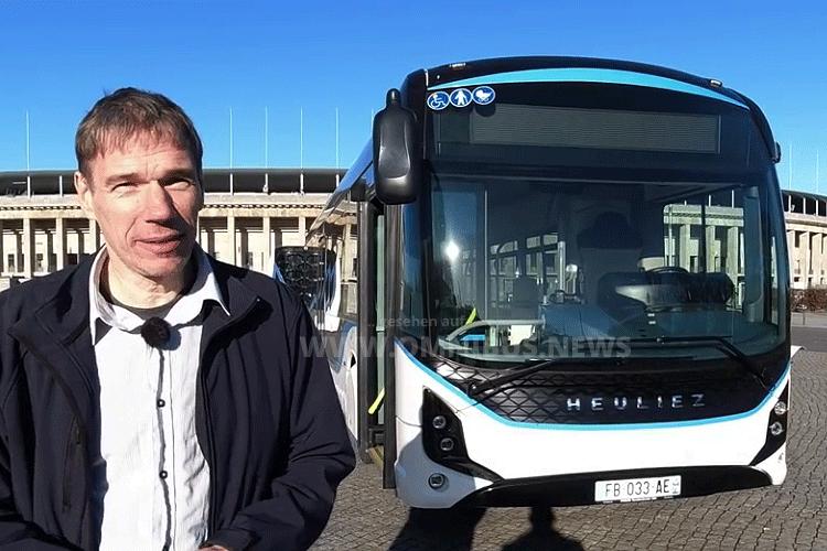 Heuliez E-Bus bei BUS TV