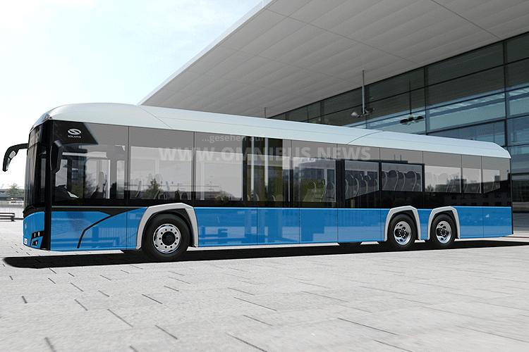 15m E-Bus von Solaris